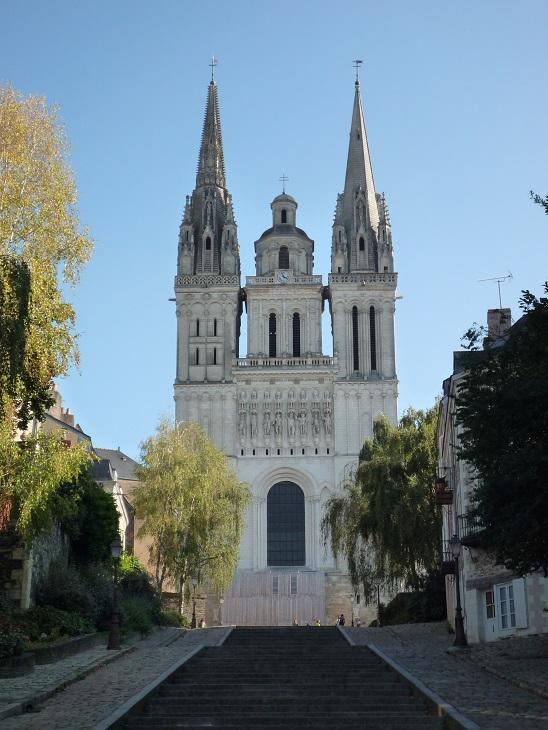 Cathédrale Saint-Maurice, Angers (France) - Façade