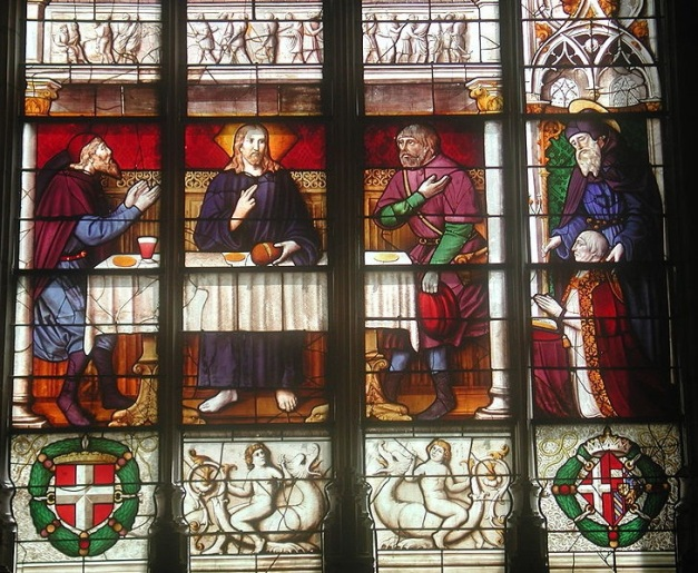 Pèlerins d'Emmaüs - Eglise de Brou