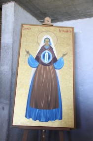 Icône de sainte Bernadette