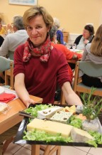 Agnès et les fromages...